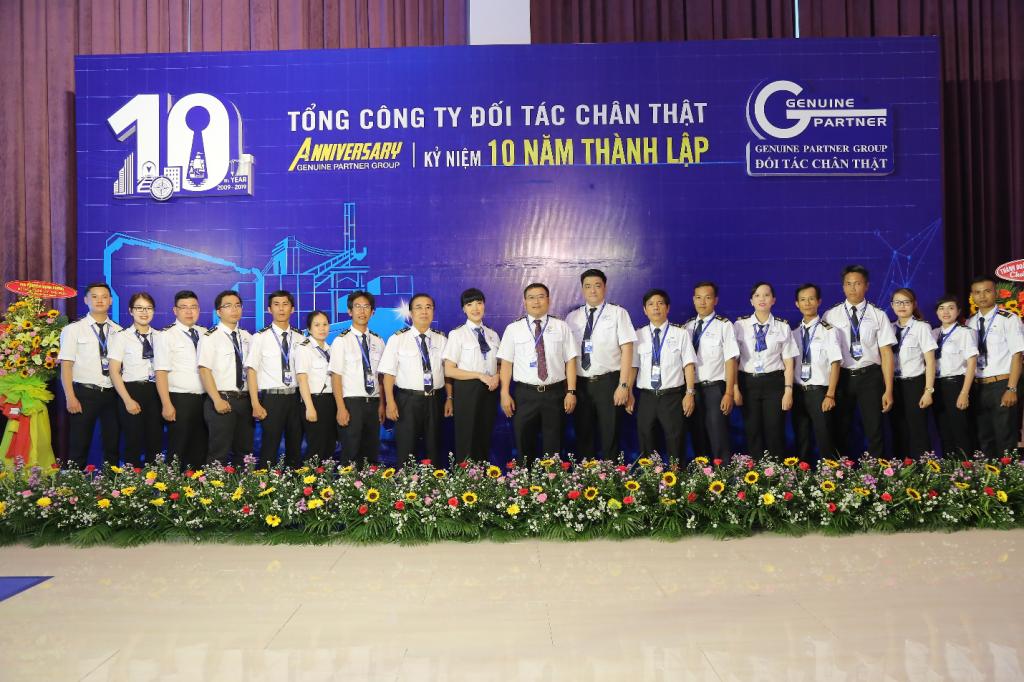 Tổng Công ty Đối Tác Chân Thật long trọng tổ chức  Lễ kỷ niệm 10 năm thành lập và phát triển
