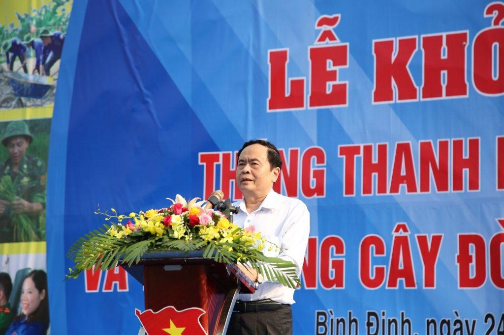 Trung ương Đoàn TNCS Hồ Chí Minh khởi động Tháng thanh niên 2019 trên đất võ Tây Sơn, Bình Định