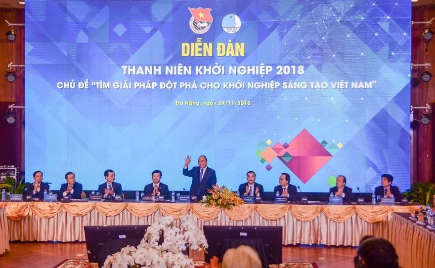 """Đối Tác Chân Thật đồng hành cùng Diễn đàn """"Thanh niên khởi nghiệp 2018"""" tại Đà Nẵng"""