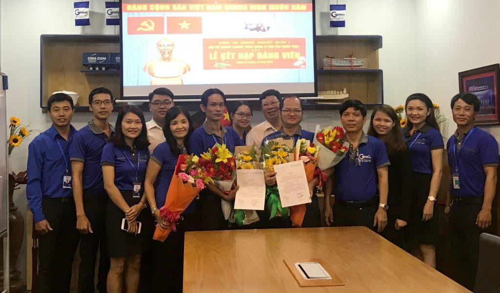 Đối Tác Chân Thật Long trọng tổ chức Lễ kết nạp Đảng viên mới