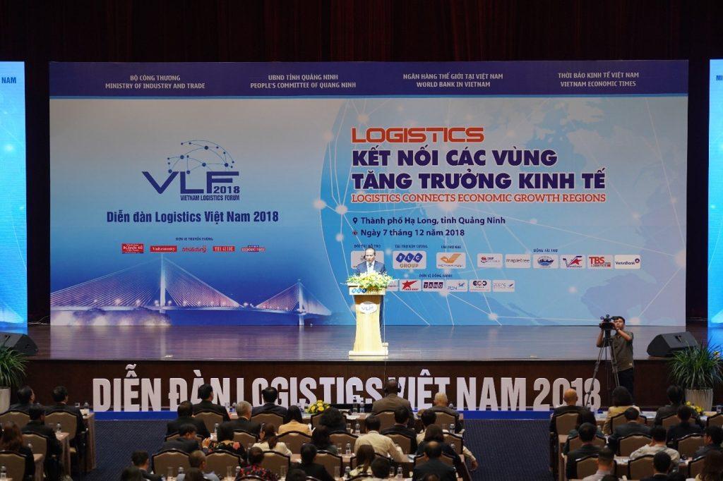 ĐTCT Tham dự Diễn đàn Logistics Việt Nam 2018 – Kết nối các vùng tăng trưởng kinh tế